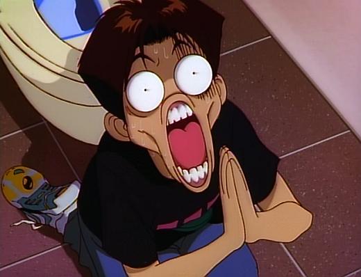 anime face