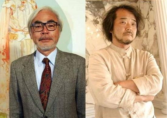 miyazaki hayao, oshii mamoru