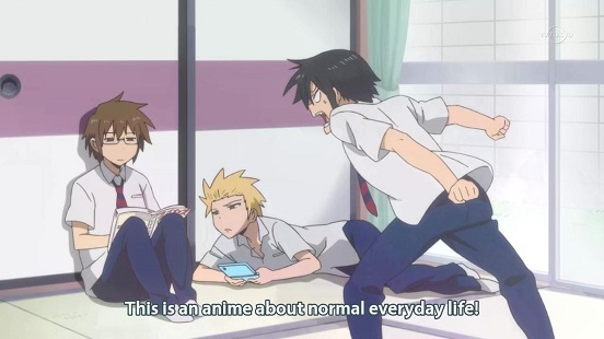 daily lives of high school boys main characters