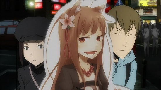 durarara meta spice and wolf
