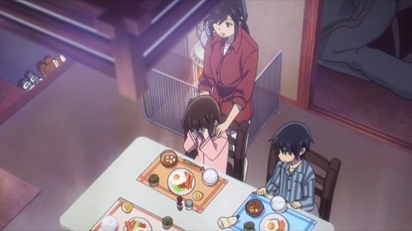 erased breakfast scene
