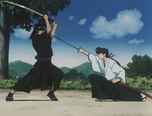Kazemakase Tsukikage Ran fight