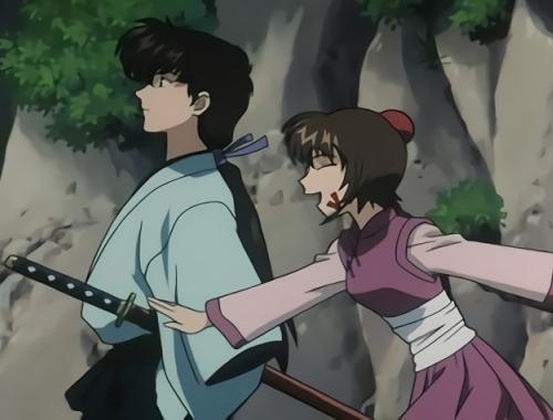 Kazemakase Tsukikage Ran main characters