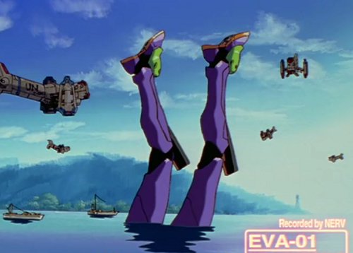 evangelion robot fail