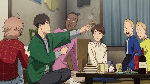 kaze ga tsuyoku fuiteiru characters background