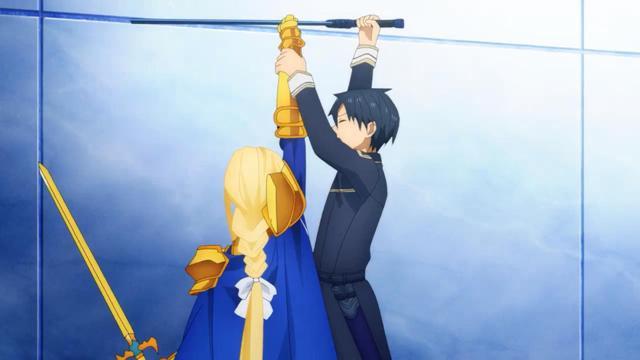 sword art online alice kirito